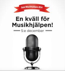 En kväll för Musikhjälpen - poesi & musik värmer era hjärtan den 5:e december!