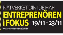 Nätverket Din Idé har Entreprenören i fokus 19/11-23/11