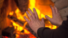 Vinter og kulde gir økt brannfare