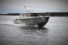 Pionjärer på Finnhamn för ny båtmodell