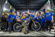 Aaron Plessinger Wins His First Championship with AMA Supercross 250SX West Title