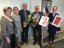 Kotkan kaupunki ja Kymijoen Ravintopalvelut Oy saivat valtakunnallisen tunnustuksen Sydänliitolta