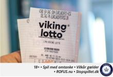 Vandt næsten fem millioner kroner i Vikinglotto: Anede ikke jeg havde spillet