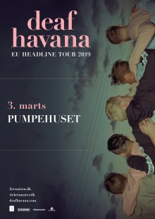 Deaf Havana tager deres eftertænksomme sange med til Pumpehuset 3. marts.