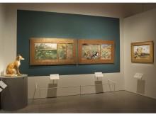 Liljeforsmålningar återförenade på Nationalmuseum