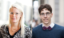Two SSE researchers elected new members of the Young Academy of Sweden