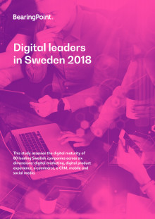 Digital leaders in Sweden 2018