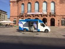Beratungsmobil der Unabhängigen Patientenberatung kommt am 4. April nach Mainz.
