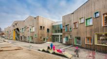 LINK arkitektur står bak nye Spetalen skole som  er kåret til vinner av  årets skolebygg 2018.