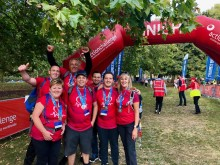 UPDATED: Huntingdon colleagues smash fundraising target with 25km trek