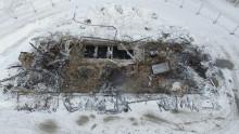 Åtgärder efter branden vid Täfteå avloppsreningsverk
