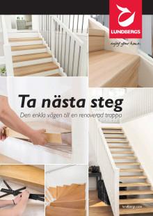 Lundbergs trapprenoveringsbroschyr - Ta nästa steg
