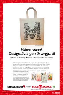 Eminent organiserar designtävling åt Malmborgsbutikerna