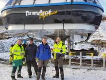 Goodtech tar nya skidliften Dundret Express till toppen