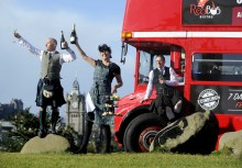 Tasty new tour offers double decker dining in Scotland's capital