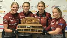 Nya framgångar för svensk curling. Team Wranå tog sin första seger på världs-touren
