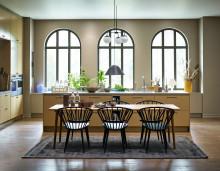 Vedums nya kök sätter färg på hösten – inspirerade av gröna skogar och havregula fält