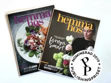 Stolta upp över öronen - Hemma Hos nominerad till Publishingpriset
