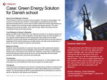 Customer case: Green solutions in Copenhagen
