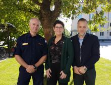 Kumla kommun och lokalpolisområde Hallsberg samarbetar för en tryggare kommun