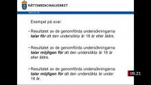 Rättsmedicinalverkets medicinska åldersbedömningar - ett rättsosäkert haveri