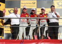 Audi DTM-mästare. Mattias Ekström tre poäng från tredje mästerskapstiteln.