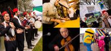 Kreativa platser gav minifestival på Gamlegården