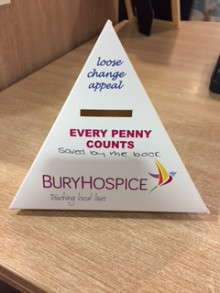Saved by the Book – raise money for Bury Hospice by reading