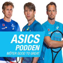 Nytt avsnitt av ASICS-podden: Tennisakademien Good to Great