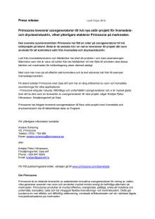 Primozone säljer till odör-projekt på Island