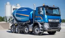 DAF CF Constructionille TOP BAU TRUCK -palkinto Slovakiassa