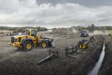 Uppdaterade Volvo hjullastare i H-serien: smartare, starkare och snabbare