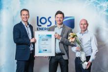 LOS Energy Award 2016: Entra og Ruter best på energisparing
