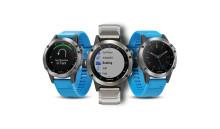 Garmin® quatix® 5 – en smartwatch som kan styra autopilot, markera waypoints och streama marin information