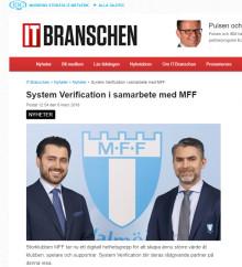 IT-branschen skriver om vårt samarbete med MFF
