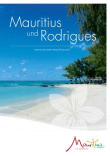 Info-Broschüre Mauritius 2014