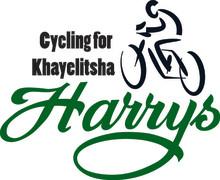 Harrys cyklar för kåkstaden Khayelitsha i Sydafrika
