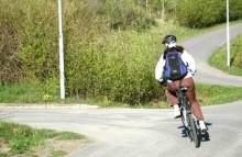 Cykelolyckan sker när bilisten inte ser