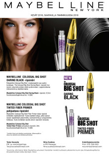 Maybelline Big Shot -maskara, Daring Black