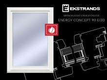 Brandklassat energifönster EC/90 EI30