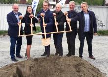 Byggstart för 380 nya bostäder i Eds allé i Väsby