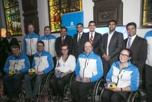 TCS Suomen pyörätuolicurlingmaajoukkueen kumppaniksi