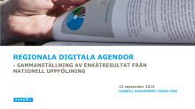 Nationell uppföljning av Regionala Digitala Agendan (Ramböll)
