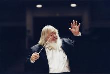 Gästspel med världsdirigenten Leif Segerstam och Musikhögskolans symfoniorkester