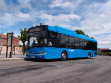 Nya gasbussar i Skövde stadstrafik