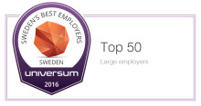 Universum Named Sigma One of 15 Best Employers in Sweden