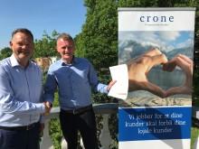 Crone blir preferert forhandler av fakturaløsninger!
