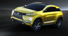 Concept eX – en kompakt SUV med neste generasjons elbil-teknologi