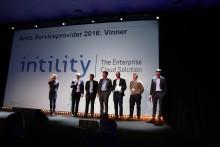 Intility kåret til årets Service Provider 2016 av Hewlett Packard Enterprise