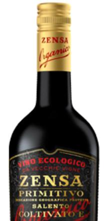 Zensa Primitivo - ekologiskt från italienska klacken!